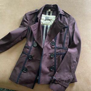 FLASH SALE 🎉 Burberry London Short Trench Coat!!